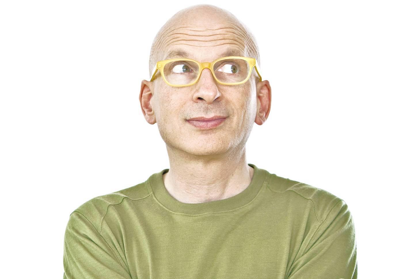 Seth Godin live aan het werk zien?