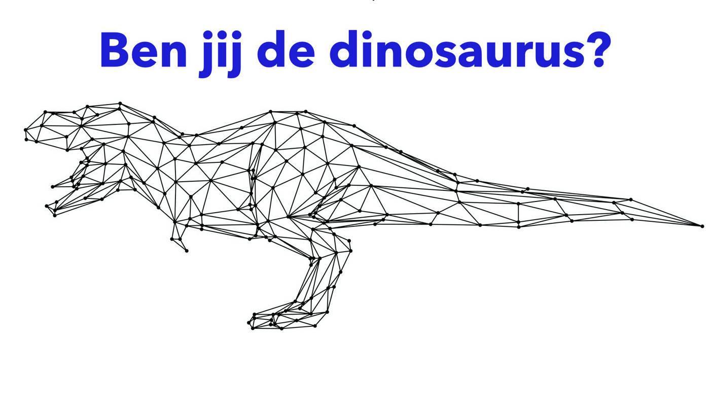 Wie is dinosaurus en wie is disruptor?
