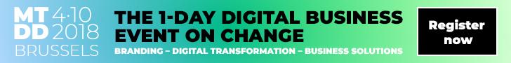 """""""Heel wat bedrijven lijken te vergeten dat ook hun branding mee evolueert naar het nieuwe digitaal tijdperk"""""""