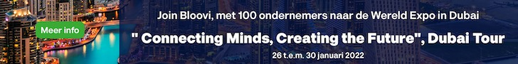 Met Bloovi en 100 ondernemers naar de Wereld Expo in Dubai