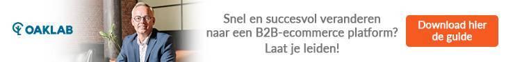 Na B2C ook online verkopen aan je B2B klanten? Deze ultieme gids voor e-commerce replatforming helpt je op weg